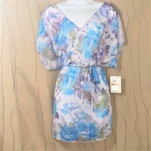 Becca XS / Small Swimsuit Cover Up Floral